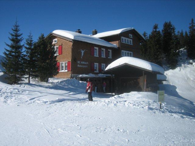 Haus im Winter 2012